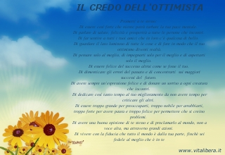 Il Credo dell'Ottimista by Christian D. Larson